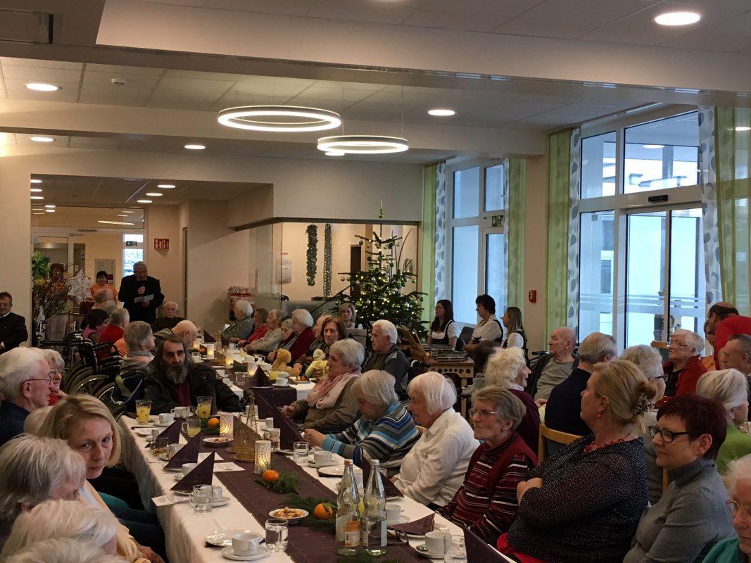 Adventfeier Im Pflegeheim Waldmünchen