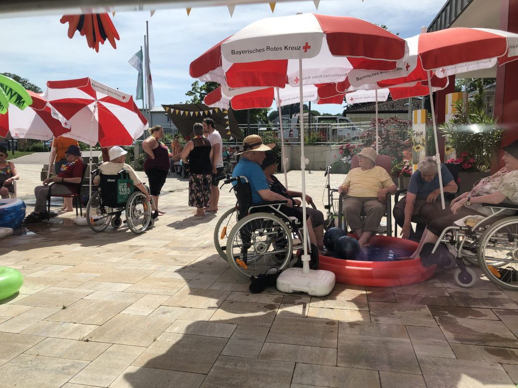 Heißes Wetter – Coole Party