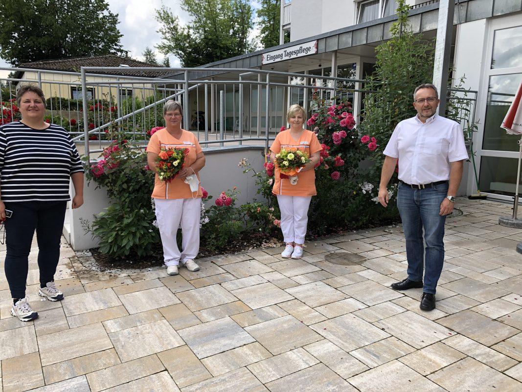 Neue Palliativfachkräfte Im BRK Seniorenheim